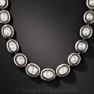 24 Carat Rose-Cut Diamond Necklace - Russian - 1