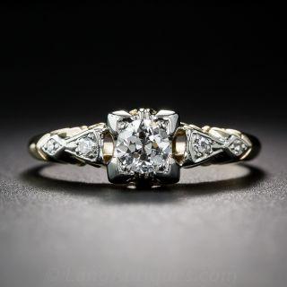 .27 Carat Diamond Vintage Engagement Ring