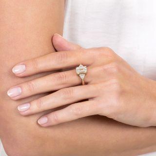 3.01 Carat Emerald-Cut Diamond Engagement Ring - GIA N SI1