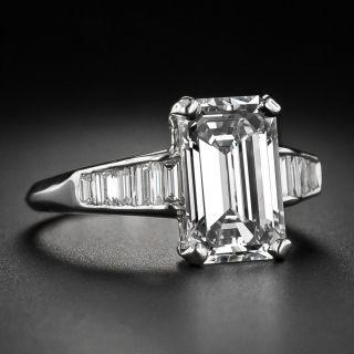 3.18 Carat Emerald-Cut Diamond  GIA H VS1