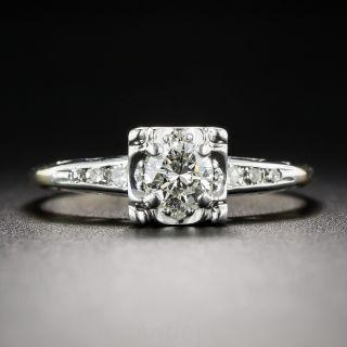 .30 Carat Two-Tone Gold Vintage Diamond Engagement Ring