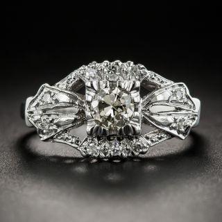 .33 Carat Vintage Diamond Engagement Ring - 2