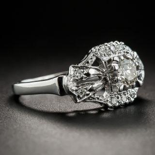 .33 Carat Vintage Diamond Engagement Ring