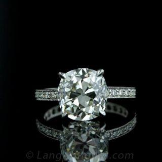 Antique Diamond Engagement Ring  Antique Jewelry