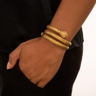 Victorian Flexible Braid Bracelet
