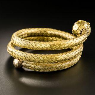 Victorian Flexible Braid Bracelet - 1
