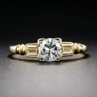 .46 Carat Diamond Art Deco Engagement Ring by Traub Orange Blossom