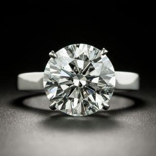 5.82 Carat Round Brilliant Diamond Diamond Solitaire - GIA  H  VS1 - 1