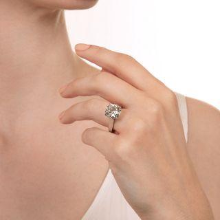 5.82 Carat Round Brilliant Diamond Solitaire - GIA  H VS1 Triple EX