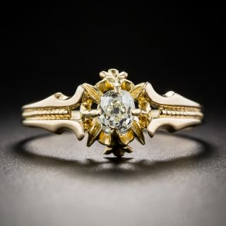 .50 Carat Diamond Victorian Engagement Ring