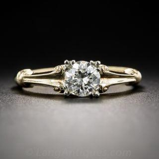 .50 Carat Diamond Vintage Engagement Ring