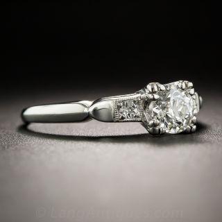.55 Carat Diamond Vintage Engagement Ring