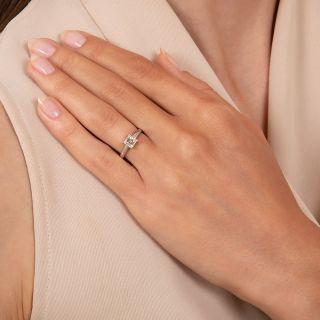 .58 Carat Square-Cut Diamond Solitaire Engagement Ring - GIA F VS1