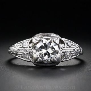 .60 Carat Art Deco Diamond Ring