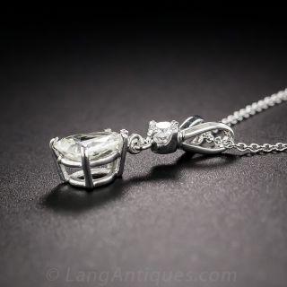 .60 Pear Shape Diamond Drop
