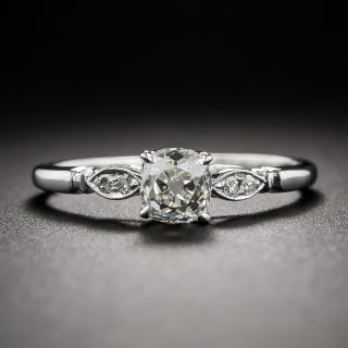 .78 Carat Antique Cushion Cut  Diamond Engagement Ring