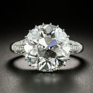 8.07 Carat European-Cut Diamond Engagement Ring by Hancocks of London - GIA I VS1 - 2