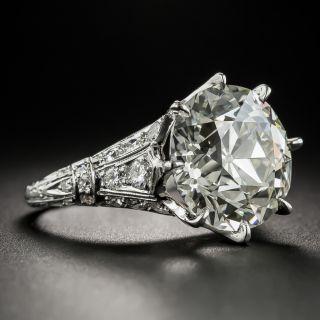 8.85 Carat European-Cut Diamond Ring - GIA N VS2