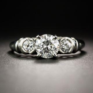 .82 Carat Diamond Vintage Engagement Ring