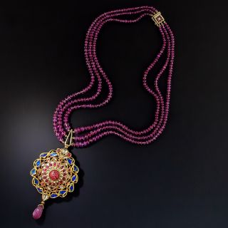Indian Moghul Style Necklace - 1