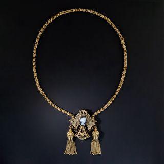 Antique Victorian Brooch/Necklace