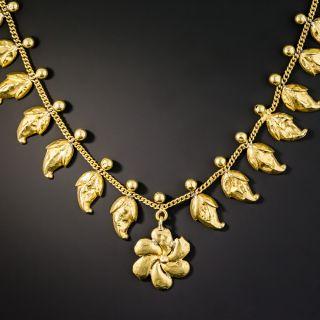 Antique Pinwheel Necklace - 1