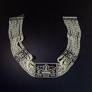 Edwardian Choker Collar Necklace - 1
