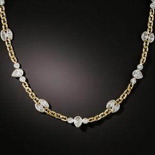David Webb Fancy Diamond Chain - 2