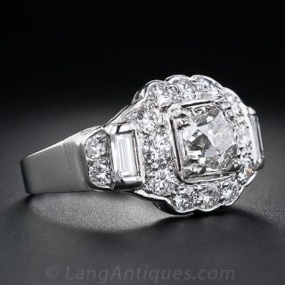 .94 Carat Vintage Style Diamond Ring