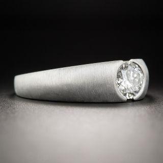 .95 Carat Platinum Diamond Gent's Ring