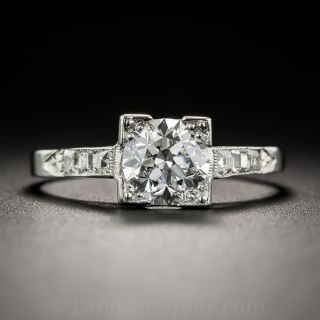 .99 Carat Diamond Engagement Ring - GIA E VS1