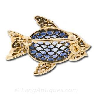 Adorable Fish Pin