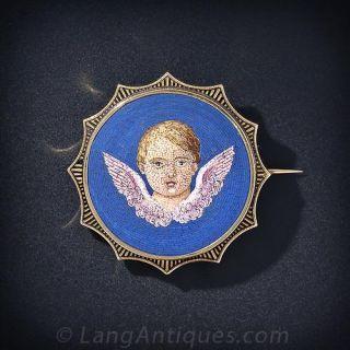 Angelic Micro-Mosaic Pin - 1