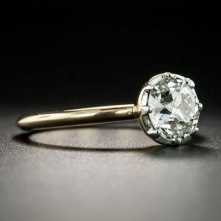 Antique 1.53 Carat Solitaire Diamond Engagement Ring - GIA  J SI2