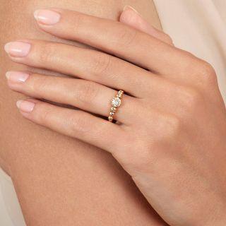 Antique .38 Carat  Diamond Engagement Ring - Austro-Hungarian
