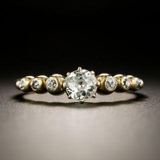 Antique .38 Carat  Diamond Engagement Ring - Austro-Hungarian - 2