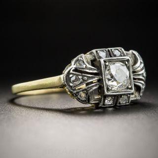 Antique .55 Carat Diamond Ring