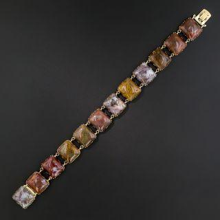 Antique Agate Bracelet