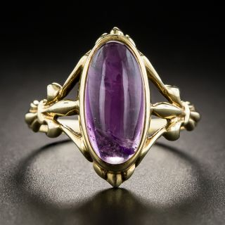Antique Amethyst Ring by Barden & Hull - 2
