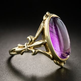 Antique Amethyst Ring by Barden & Hull