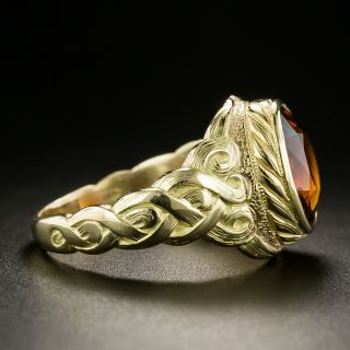 Antique Citrine Ring  by Jones and Woodland