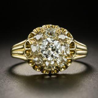 Antique Diamond Cluster Ring, Circa 1890-1900 - 2
