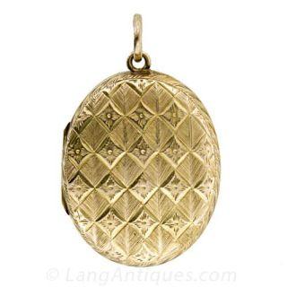 Antique Diamond Locket