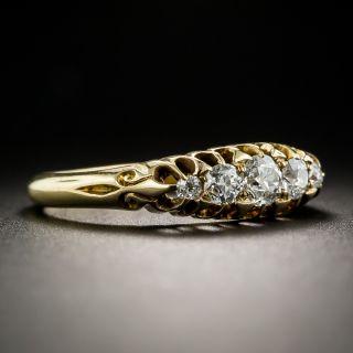 Antique English Five-Stone Diamond Ring