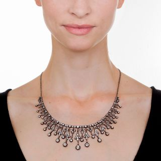 Antique French Diamond Necklace