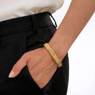 Antique Repouse Link Bracelet