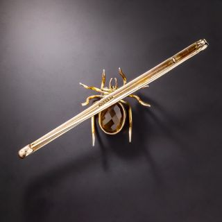 Antique Spider Bar Pin