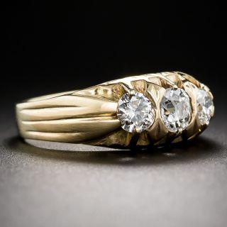 Antique Three-Stone Diamond Ring