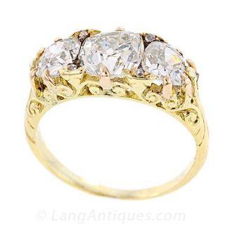 Antique Victorian Engagement Ring