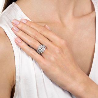 Art Deco 1.01 Carat Diamond Engagement Ring - GIA  G VS2